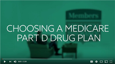 Choosing a Medicare Part D<br />Drug Plan